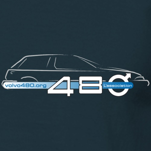 We are 480 & logo association - T-shirt Homme