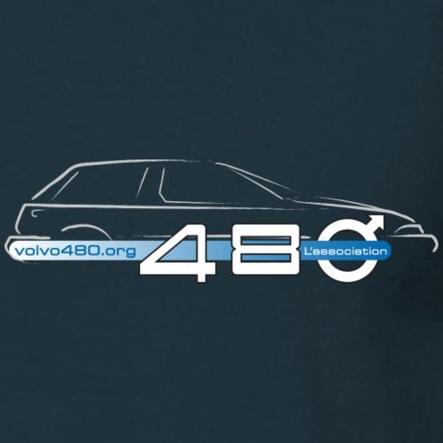 Je suis 480 & logo association - T-shirt Homme