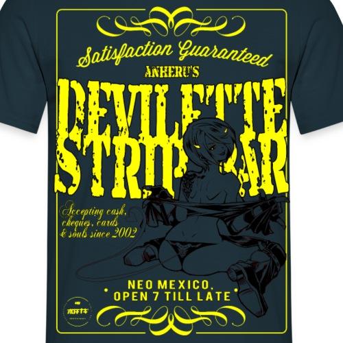 stripclublewdyellow2 png - Men's T-Shirt