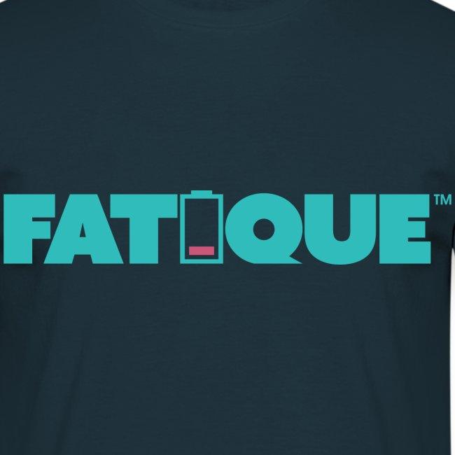 Fatique teal loco logo