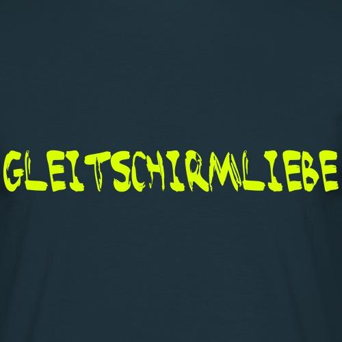 Gleitschirmliebe - Männer T-Shirt