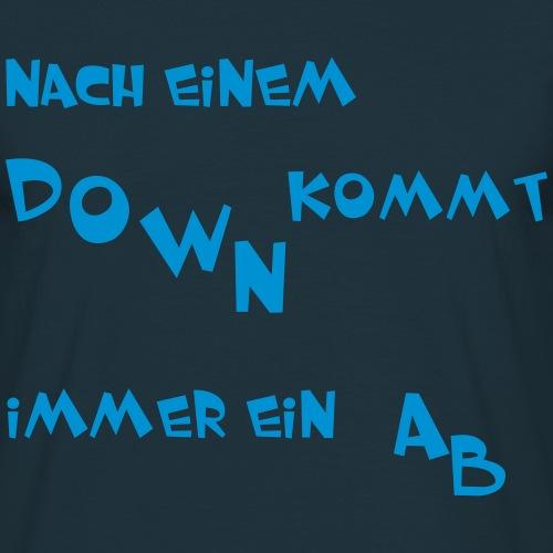 Think positive - Männer T-Shirt