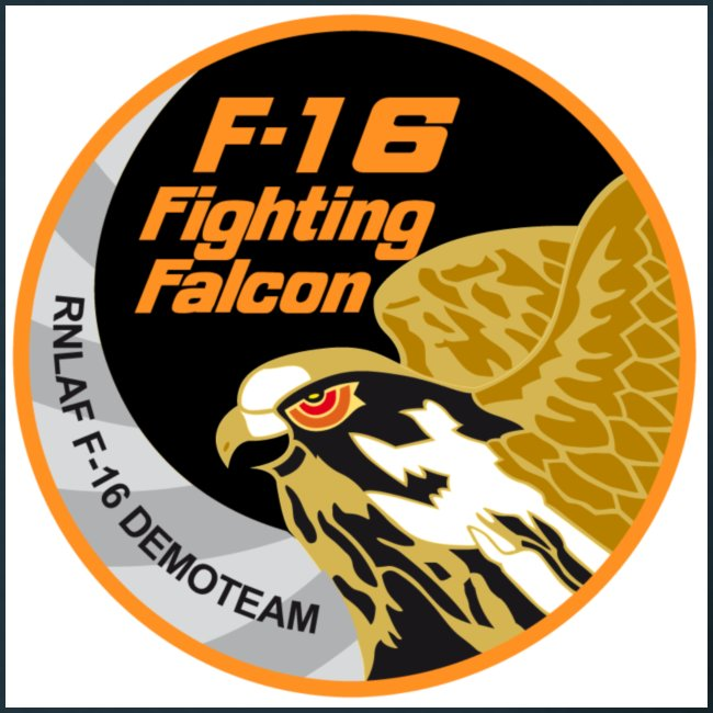 f16 fighting ecusson