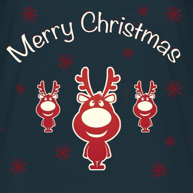 Koszulki Bożonarodzeniowe - Renifery