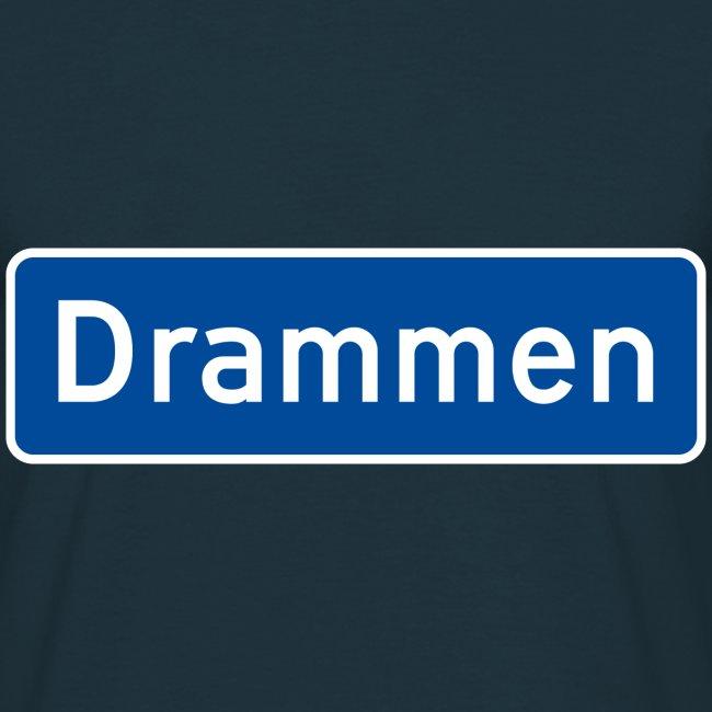 Drammen veiskilt (fra Det norske plagg)