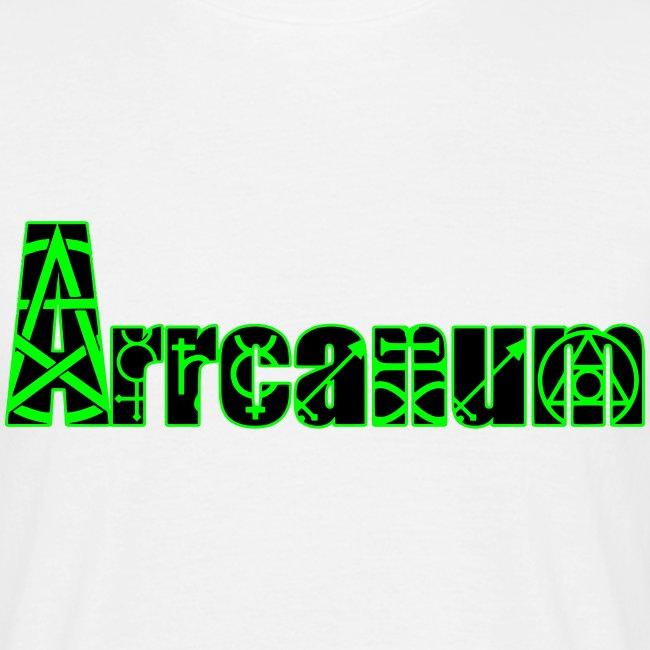 Arrcanum Logo Schrift gra