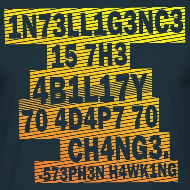 Stephen Hawking - Intelligence