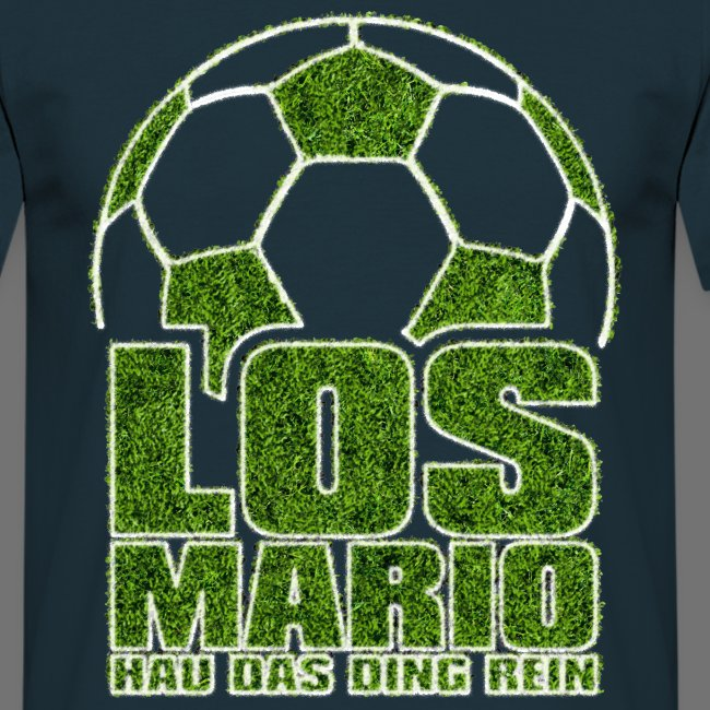 Football - Go Mario, hau the thing pure (grass)