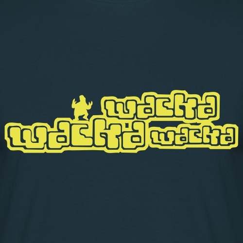 geek wackawackawacka - T-shirt herr