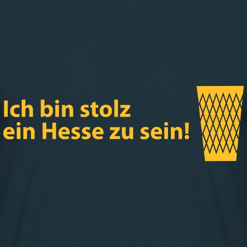 Stolzer Hesse - Frankfurt Motive by Bembeltown - Männer T-Shirt