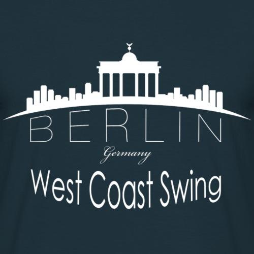 WCS-Logo-weiß - Männer T-Shirt