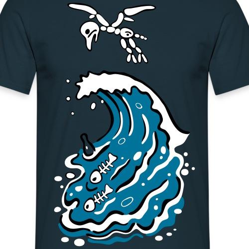 tote welle - Männer T-Shirt