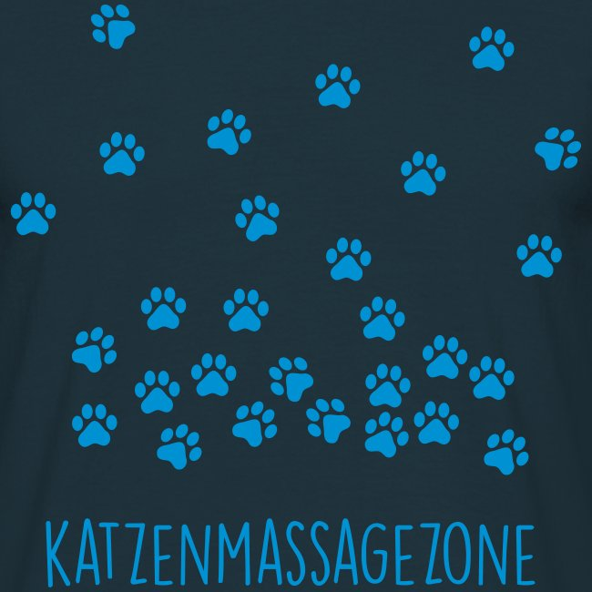 Vorschau: Katzen Massage Zone - Männer T-Shirt