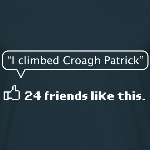 like croagh patrick - Men's T-Shirt