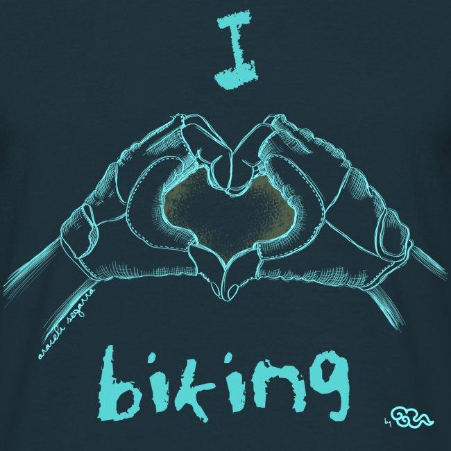 I LOVE BIKING