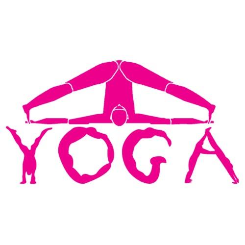 yoga yogi viola spiritualità amore namaste sport - Maglietta da uomo