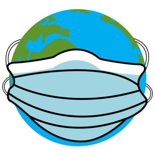 allarme virus coronavirus covid19 di emergenza mondiale - Maglietta da uomo