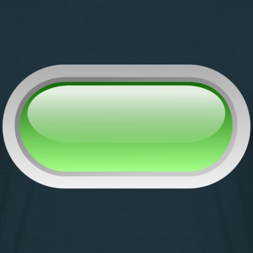 grüner Knopf - Männer T-Shirt