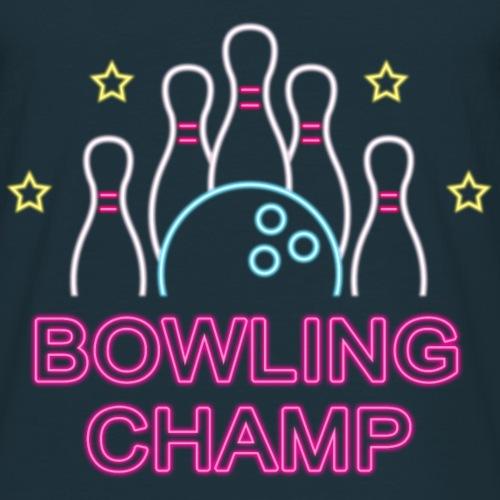 Bowling Champ - Männer T-Shirt