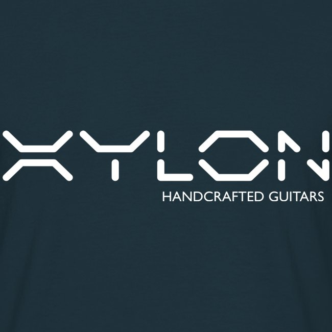 Xylon Handcrafted Guitars (name only logo white)