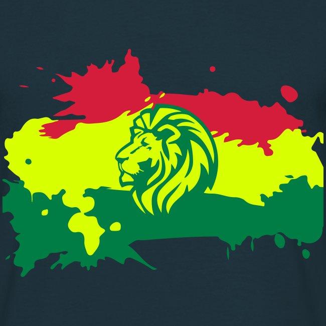 Zion Lion Flagge Reggae