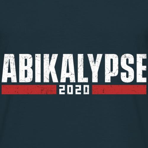 Abikalypse 2020 - Abitur 2020 trotz Corona! - Männer T-Shirt