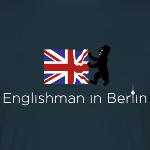 Englishman Logo & Bär - Männer T-Shirt