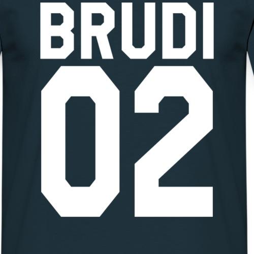 Brudi 02 Geschwister Beste Freunde Partnerlook - Männer T-Shirt