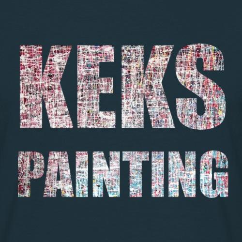 Keks Paint - Männer T-Shirt