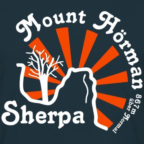 Mount Hörman Sherpa - Männer T-Shirt