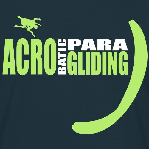 acrobaticparagliding 1 - Männer T-Shirt