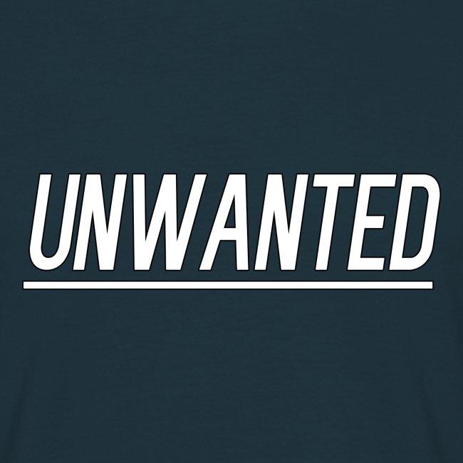 UNWANTED Logo Tee White