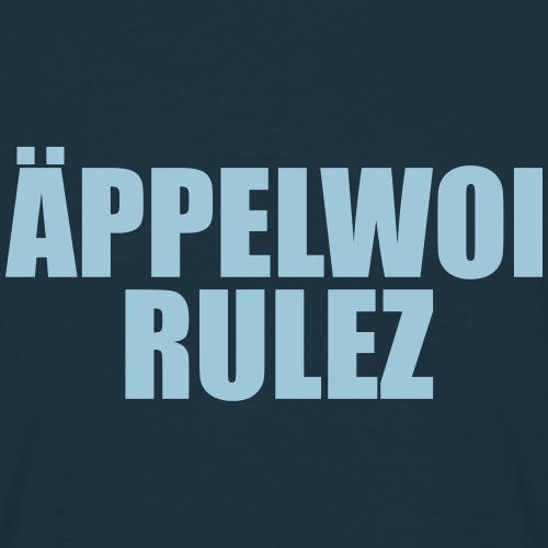 ÄPPELWOI RULEZ - FRANKFURT MOTIVE - Männer T-Shirt