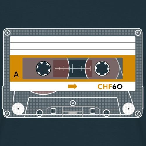 Cassette CHF - Men's T-Shirt