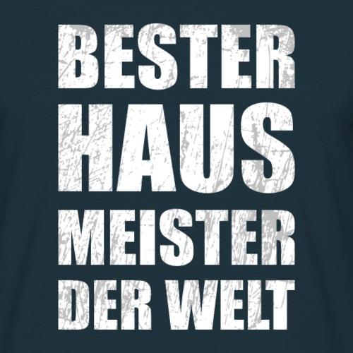 Bester Hausmeister der Welt - lustiges Geschenk - Männer T-Shirt