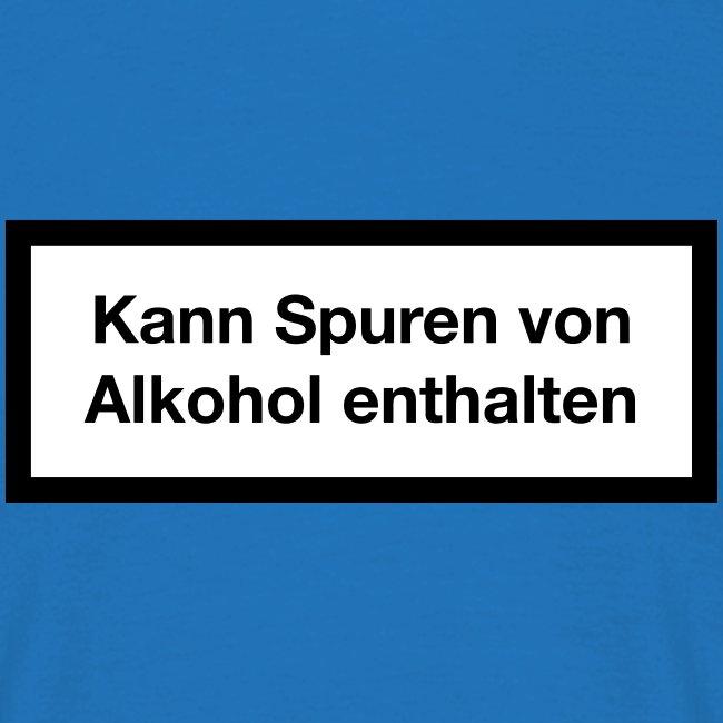 Warnhinweis - Kann Spuren Von Alkohol enthalten 2c