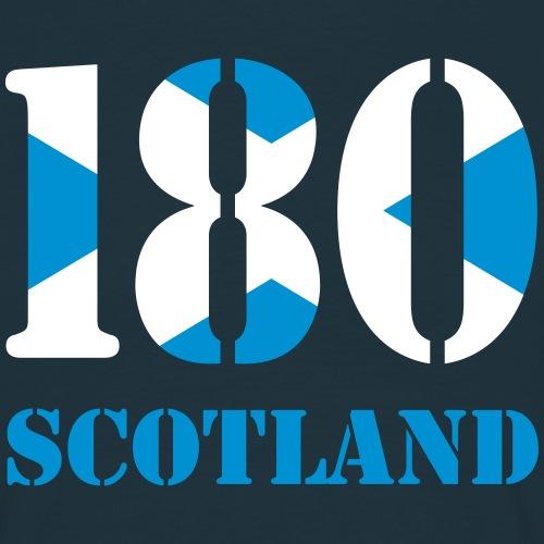 180 Scotland - Männer T-Shirt