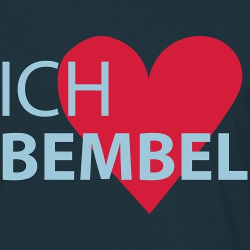 Herz Bembel Frankfurt - Männer T-Shirt