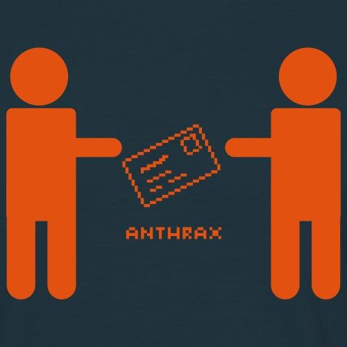 naken anthrax ny - T-shirt herr