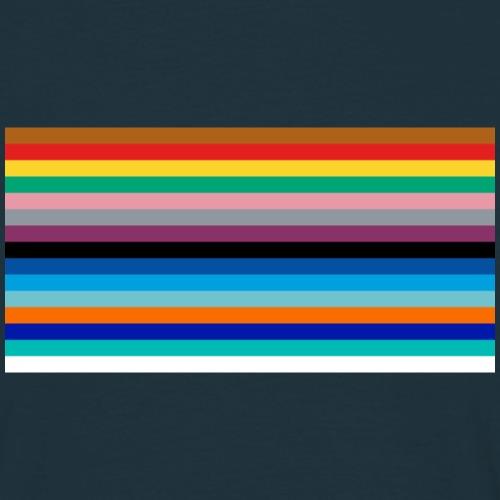 Tube Line Colours - Men's T-Shirt