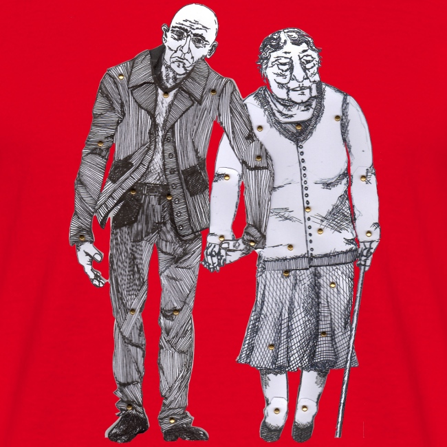 Älteres Paar - Pain Curator