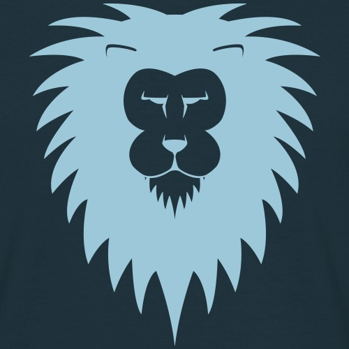 Löwenkopf - Männer T-Shirt