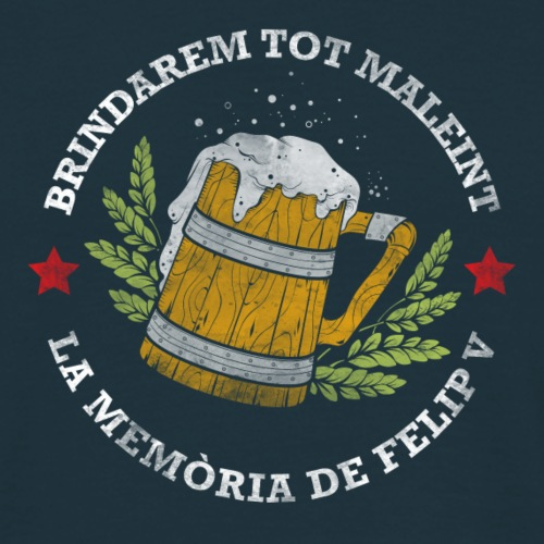 Samarreta Cervesa - Camiseta hombre