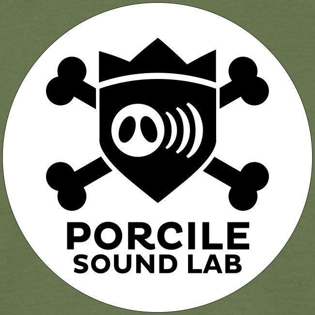logo porcile sound lab BN