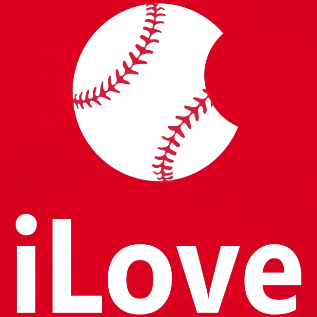 "Baseball Logo ""iLove Baseball"""