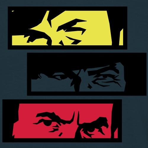Eyes too - Männer T-Shirt
