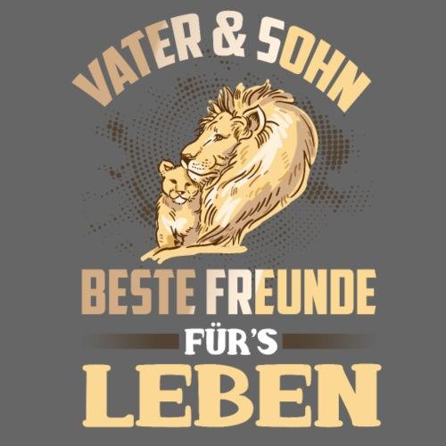 Vater und Sohn Beste Freunde fürs Leben - Männer T-Shirt