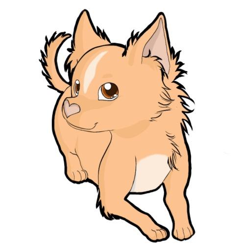 Chihuahua a pelo lungo peach - Maglietta da uomo