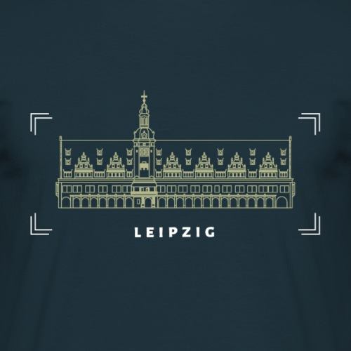 Rathaus — Fokus - Männer T-Shirt