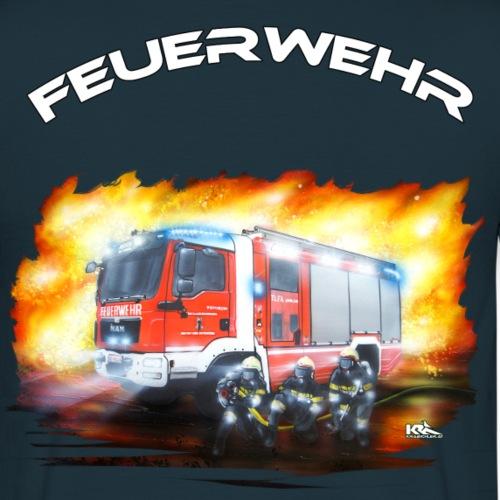 TLFA neu Schrift oben - Männer T-Shirt